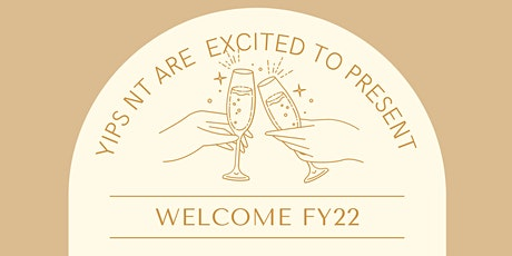 NT YIPs Welcome FY22 tickets