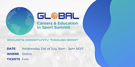 Global Careers & Education in Sport Summit bilhetes