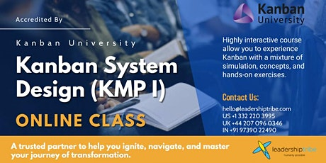 Kanban System Design (KMP I) - 020821 - Italy tickets