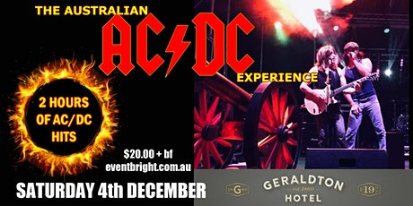 The Australian AC/DC Experience at The Geraldton Hotel tickets
