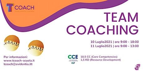 Team Coaching biglietti