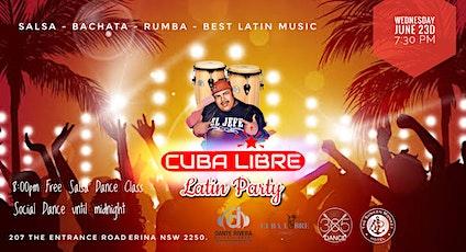 Cuba Libre Latin Party tickets