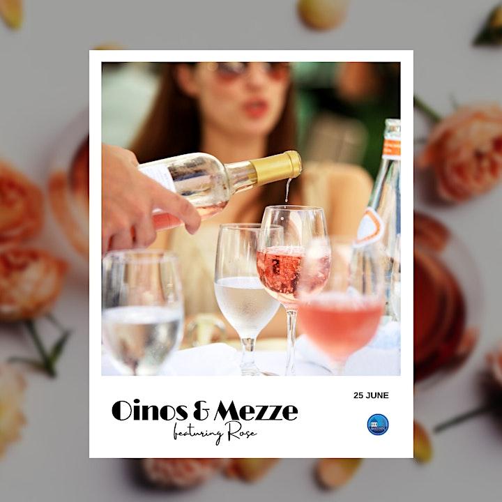 Oinos + Mezze  Celebrate International Rose Wine Day image