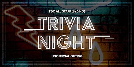 FDC (unofficial) Brains Trust Dinner & Trivia Night tickets