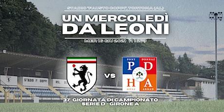 HSL Derthona vs Pont Donnaz biglietti