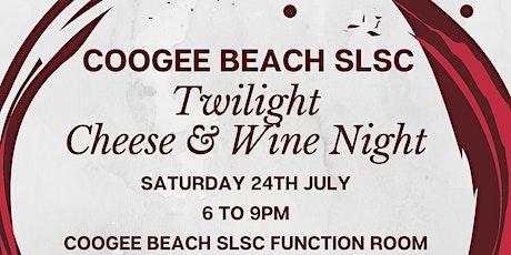 Twilight Cheese & Wine Night tickets