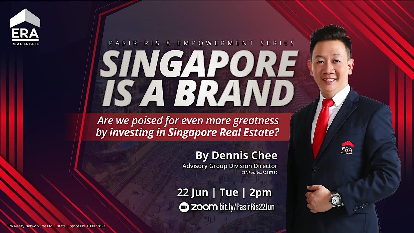 Singapore Is A Brand (Pasir Ris 8 Empowerment)