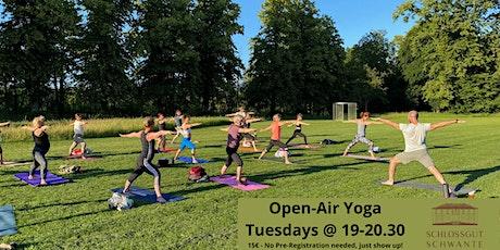LIVE!! - Outdoor Yoga in the Sculpture Garden - TUESDAYS Tickets