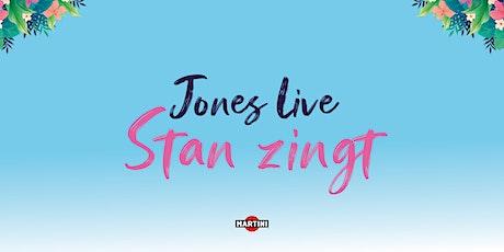 Jones Live: Stan van Samang tickets
