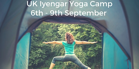 Iyengar Yoga and Camping Retreat -  6th to 9th September 2021 tickets