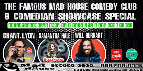 The Mad House Showcase Special with Grant Lyon as seen on Comics Unleashed! tickets