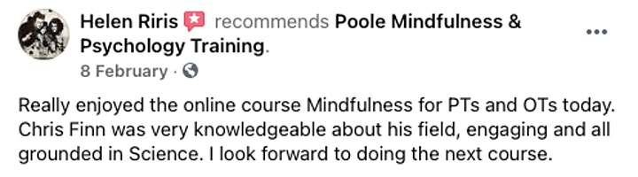 Mindfulness In Physiotherapy & Occupational Therapy - 2 Hour CPD image