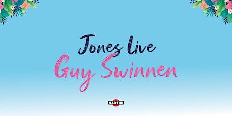 Jones Live: Guy Swinnen tickets