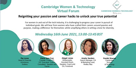 Reigniting your passion and career hacks to unlock your true potential tickets