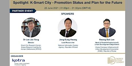 World Cities Summit - Spotlight: K-Smart City tickets