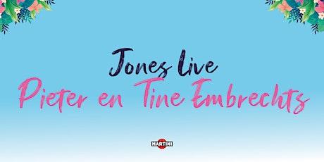 Jones Live: Pieter en Tine Embrechts tickets