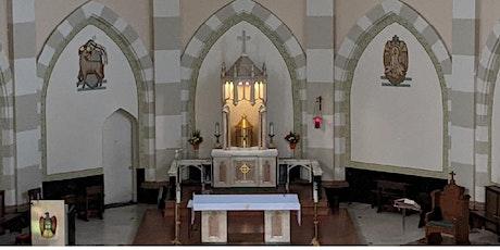 St. John's Parish Masses - Register to attend Our Mass tickets