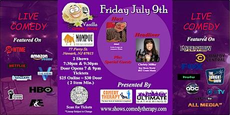 Vanilla Comedy Series  @  Mompou Newark, NJ - July 9th 7:30 Show tickets
