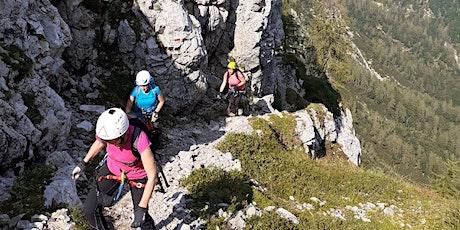 Approccio alle vie ferrate con Scuola di Alpinismo FVG: Sentiero Spinotti tickets