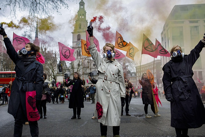 Global Justice in the Fashion Supply Chain with Extinction Rebellion image
