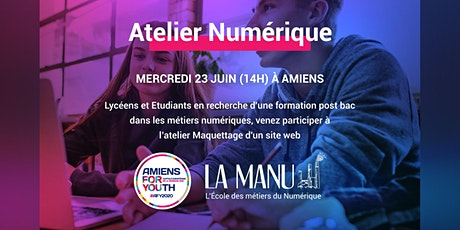 Atelier Numérique (lycéens) : Maquettage d'un site web billets