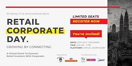 Retail Corporate Day | Mr Money TV X AmInvestment Bank biglietti