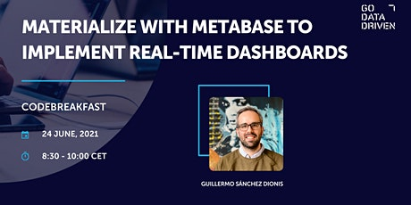 Materialize with Metabase to implement real-time dashboards tickets