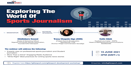 Exploring the World of Sports Journalism tickets