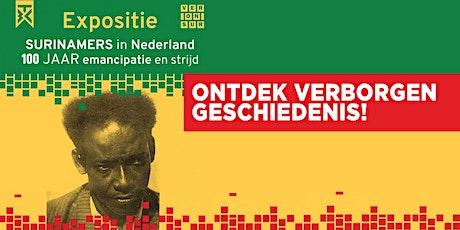 Expositie Surinamers in Nederland: 100 jaar emancipatie en strijd! tickets