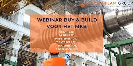 Webinar: Buy & Build voor het MKB tickets