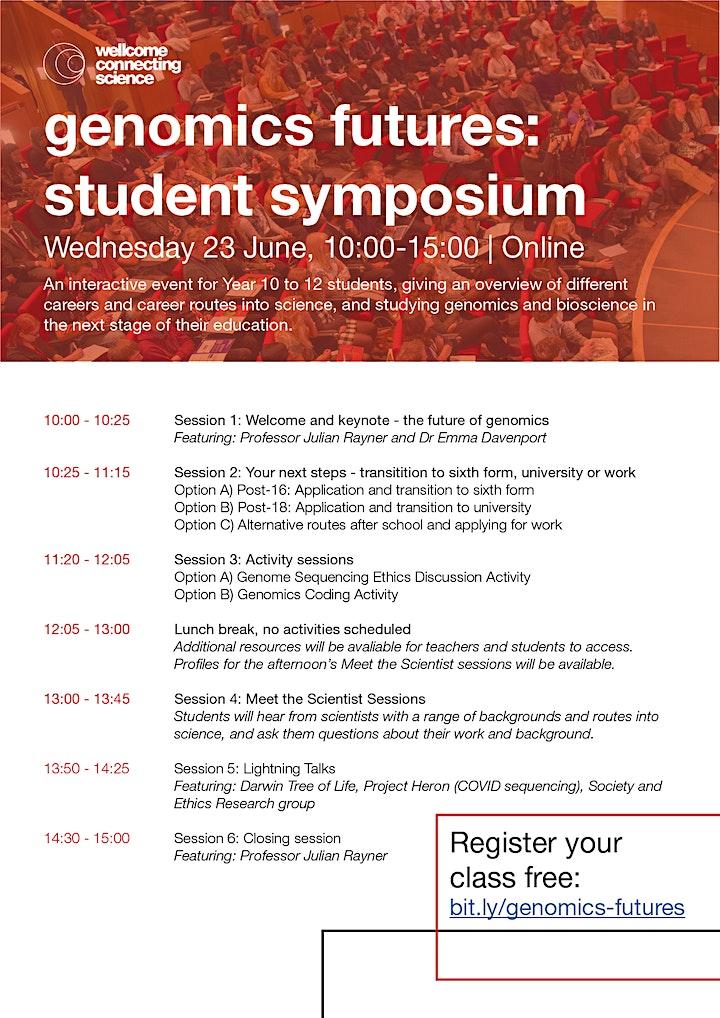 genomics futures: student symposium image