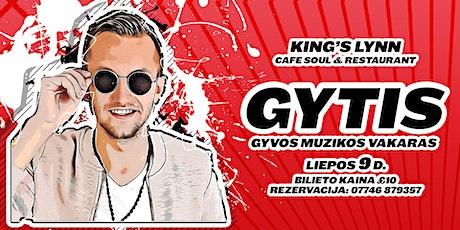 GYTIS: gyvai   King's Lynn tickets