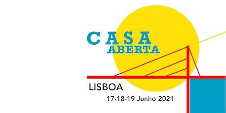 Casa Aberta : seleção de artesanato português bilhetes