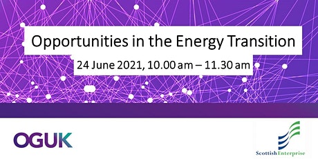 Opportunities in the Energy Transition tickets