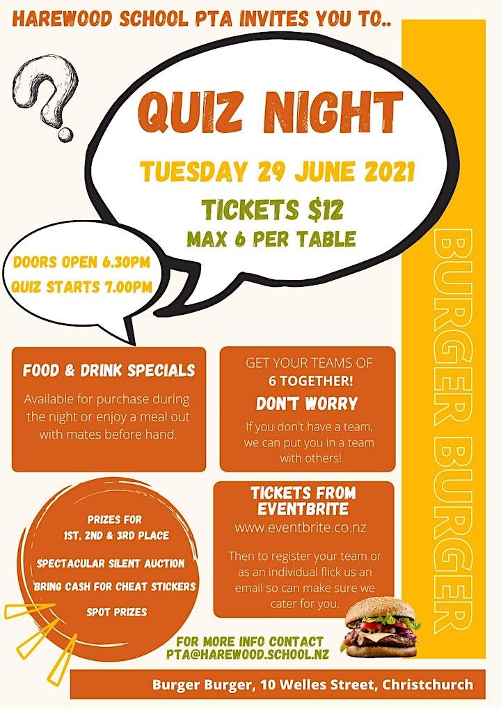 Harewood School PTA - Quiz Night image
