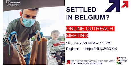 British Embassy Brussels Online Outreach Meeting - 16 June 2021 tickets