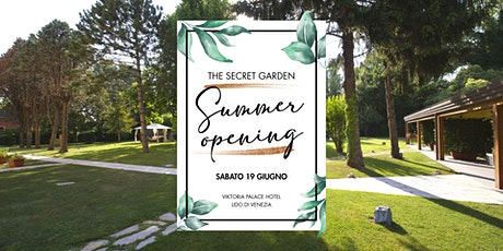 Summer Opening • Viktoria Palace Garden • Lido di Venezia biglietti