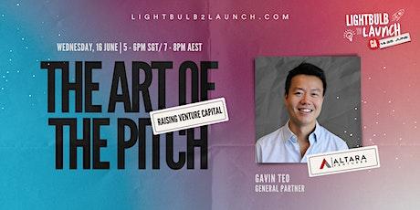Raising Venture Capital – The Art of the Pitch ingressos
