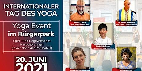 Yoga  Event im Bürgerpark tickets