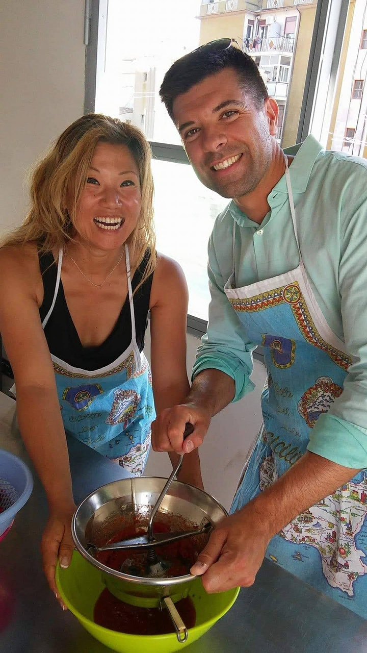 Immagine CATANIA WEDNESDAY COOKING CLASS: FROM FARM TO TABLE