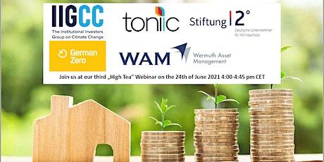 Berlin Green Investment Summit High Tea-Webinar Series tickets