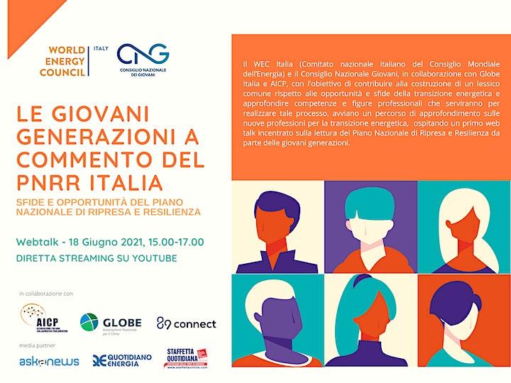 Immagine Le giovani generazioni a commento del PNRR Italia