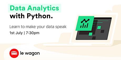 [ONLINE WORKSHOP] Data Analytics for beginners  tickets