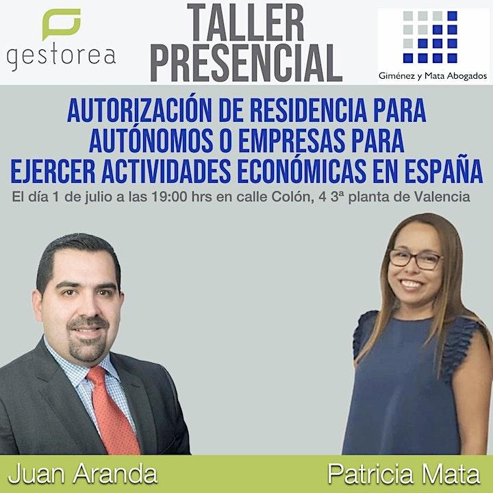 Imagen de Autorización de Residencia  para ejercer Actividad Económica en España