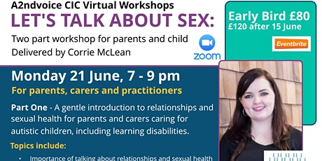 Autism: Let's Talk About Sex: Healthy Relationships & Sexual Health tickets