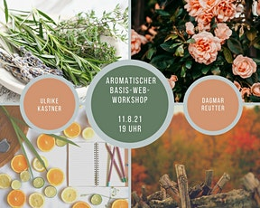 Aromatischer BASIS Web-Workshop mit ätherischen Öl Tickets