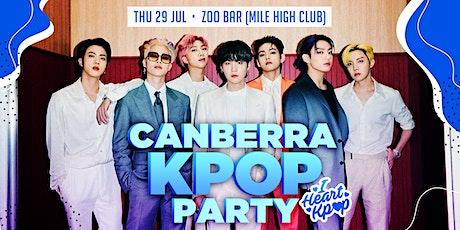 CANBERRA KPOP PARTY | 2021 RETURN | THU 21 OCT tickets