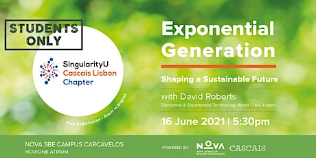 Exponential Generation Chapter Event bilhetes