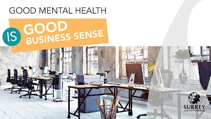Good Mental Health is Good Business Sense image