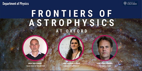 Frontiers of Astrophysics at Oxford tickets